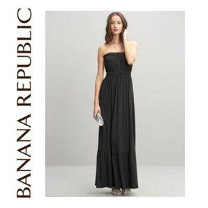 Banana Republic Strapless Maxi Dress